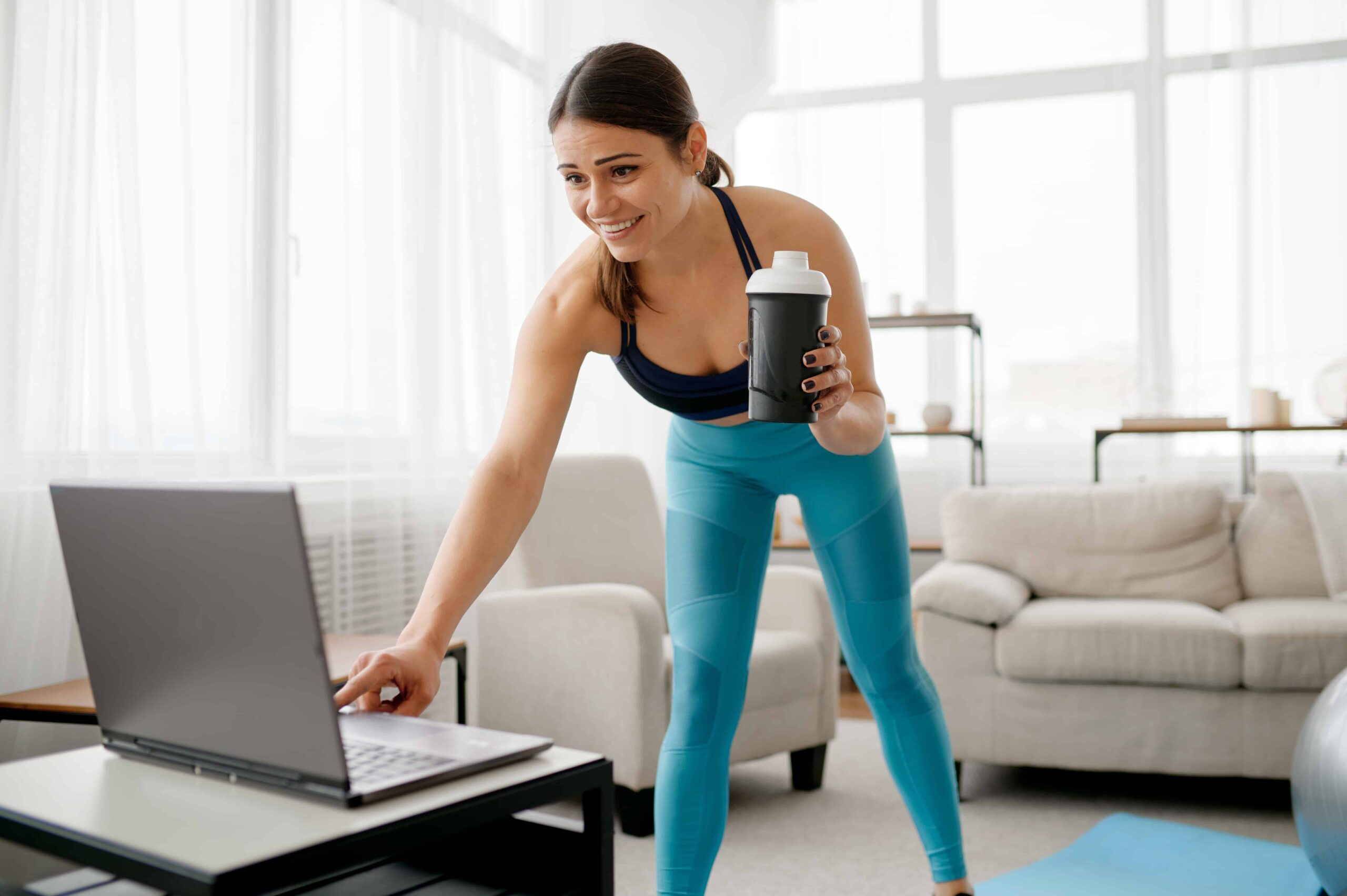 This is an image of Communication online fitness coach scaled
