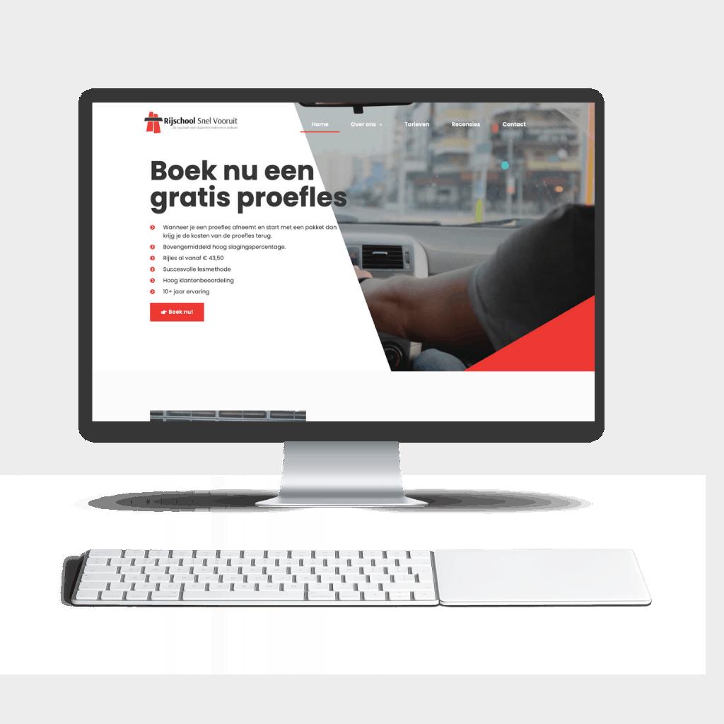 This is an image of Website design Sint Maarten website driving school 1024x1024 1